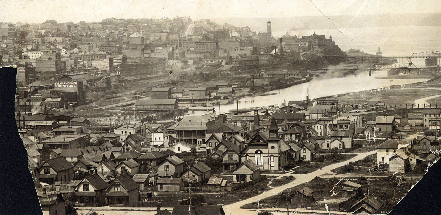 Tacoma Dome District vintage photo 1890