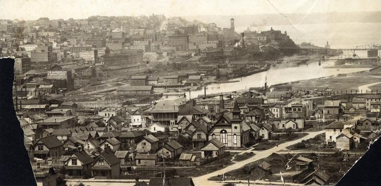 Tacoma Dome District vintage photo 1890